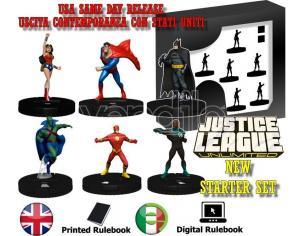 Wizbambino Dchc Justice League Unltd Starter Set Wargame