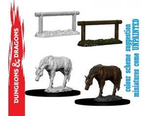 Wizbambino Wizbambino Um Horse & Hitch Miniature E Modellismo