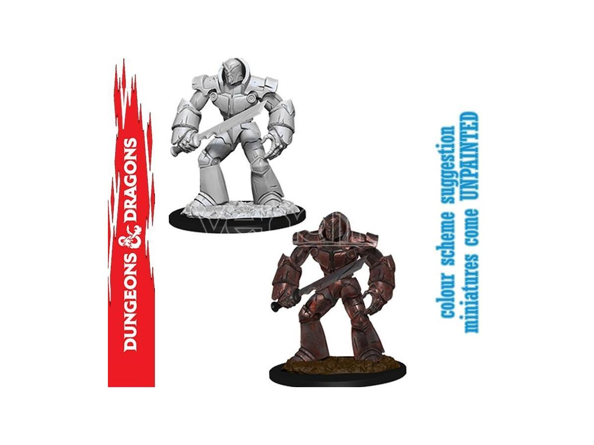 Wizbambino D&d Nolzur Mum Iron Golem Miniature E Modellismo