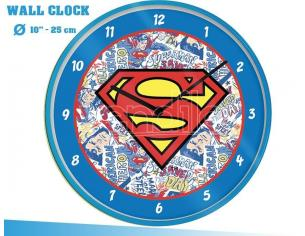 DC SUPERMAN LOGO WALL CLOCK OROLOGIO PYRAMID INTERNATIONAL