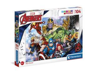 Marvel Avengers puzzle 104pcs Clementoni