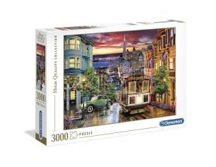 San Francisco puzzle 3000pcs Clementoni