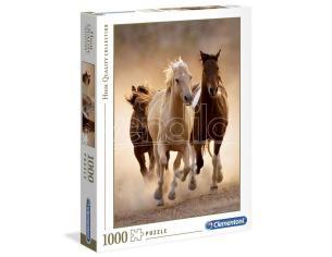 Running Horses puzzle 1000pcs Clementoni