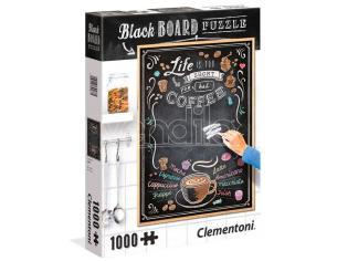 Black Board Coffee puzzle 1000pcs Clementoni