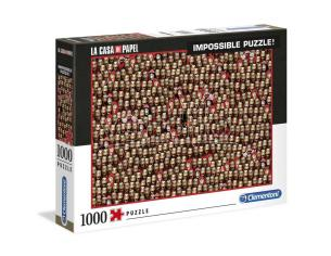 Money Heist Impossible puzzle 1000pcs Clementoni