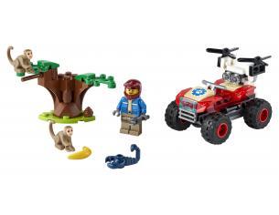LEGO CITY 60300 - ATV DI SOCCORSO ANIMALE
