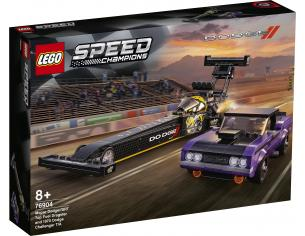LEGO SPEED CHAMPIONS 76904 - MOPAR DODGE/SRT DRAGSTER E DODGE CHALLENGER 1970