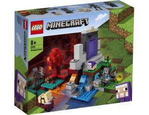 LEGO MINECRAFT 21172 - IL PORTALE IN ROVINA