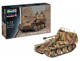 REVELL RV03316 SD.KFZ.13B MARDER III AUSF.M KIT 1:72 Modellino