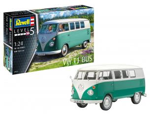 REVELL RV07675 VW T1 BUS  KIT 1:24 Modellino