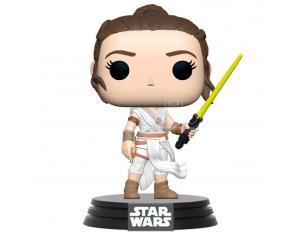 Pop Figura Star Wars The Rise Of Skywalker Rey Con Yellow Saber Funko