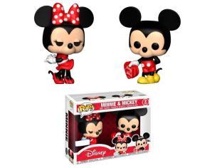Pop Pack 2 Figures Disney Valentine Mickey & Minnie Esclusiva Funko