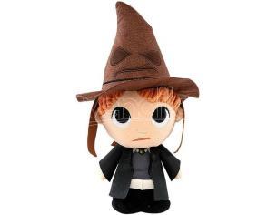 Harry Potter Peluche Ron con Cappello Parlante 15 cm