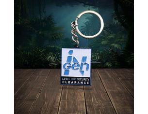 Jurassic Park Metal Keychain InGen Limited Edition 4 Cm FaNaTtik