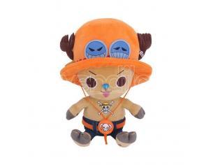 One Piece Plush Figure Chopper X Ace 11 Cm Sakami Merchandise