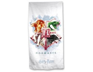 Harry Potter Hogwarts Cotone Telo Mare Warner Bros.