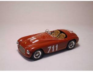Art Model AM0052 FERRARI 166 MM SPYDER N.711 4th MM 1950 BRACCO-MAGLIOLI 1:43 Modellino