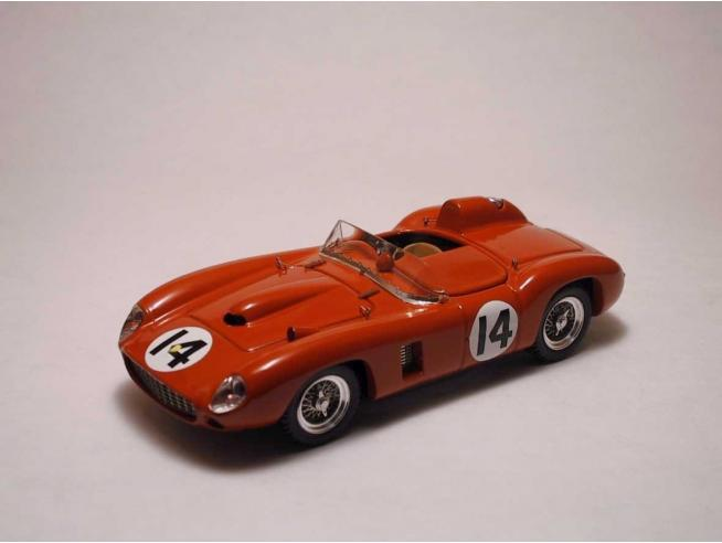Art Model AM0064 FERRARI 290 MM N.14 DNF 12H SEBRING 1957 P.HILL-W.VON TRIPS 1:43 Modellino