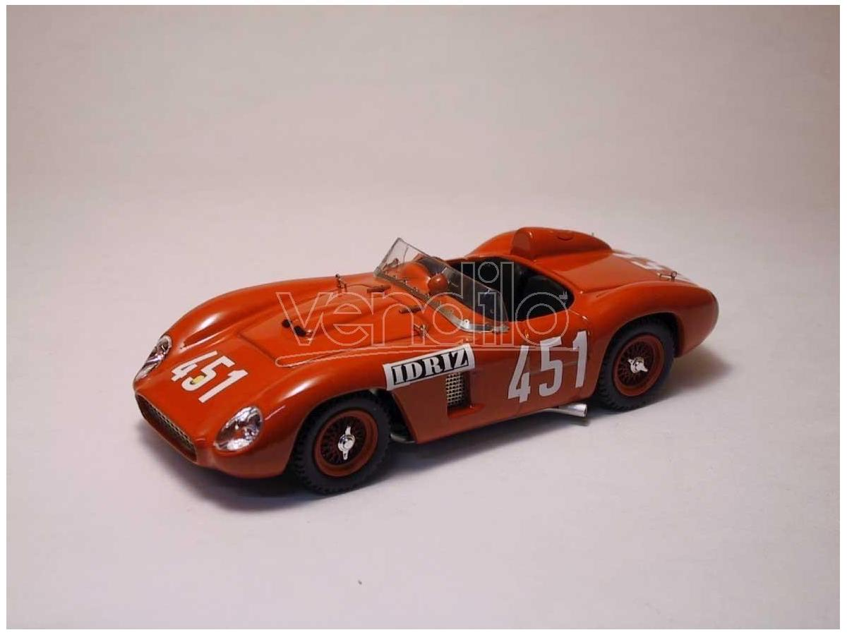 Art Model AM0065 FERRARI 500 TR N.451 8th MILLE MIGLIA 1957 (WINNER CLASS) G.MUNARON 1:43 Modellino