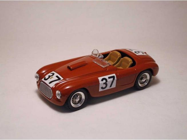 Art Model AM0107 FERRARI 166 MM SPIDER N.37 2nd SILVERSTONE 1950 D.SERAFINI 1:43 Modellino