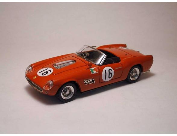 Art Model AM0116 FERRARI 250 CALIFORNIA N.16 8th 12H SEBRING 1960 ABATE-SCARLATTI-SERENA Modellino