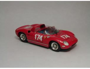 Art Model AM0129 FERRARI 250 P N.174 INCIDENTE SURTEES T.FLORIO 1963 SURTEES-PARKES 1:43 Modellino