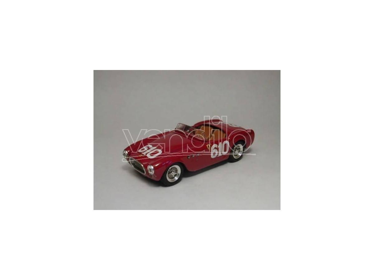 Art Model AM0130 FERRARI 225 S N.610 DNF MILLE MIGLIA 1952   SCOTTI-CANTINI 1:43 Modellino