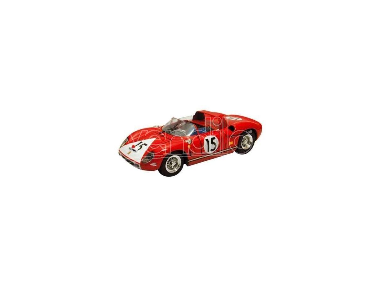 Art Model AM0148 FERRARI 330 P N.15 RETIRED LE MANS 1964 RODRIGUEZ-HUDSON 1:43 Modellino