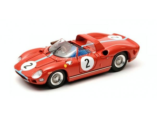 Art Model AM0180 FERRARI 330 P N.2 WINNER 1000 KM PARIS 1964 HILL-BONNIER 1:43 Modellino