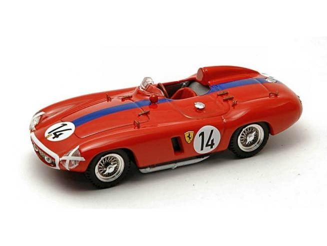 Art Model AM0187 FERRARI 750 MONZA N.14 DNF LM 1955 M.GREGORY-SPARKEN 1:43 Modellino