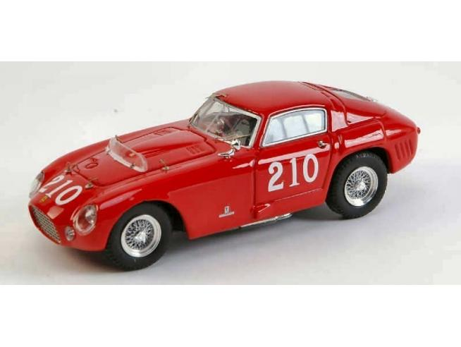 Art Model AM0189 FERRARI 375 MM N.210 4th WATKINS GLEN 1954 D.IRISH 1:43 Modellino