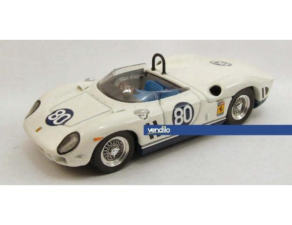 Art Model AM0201 FERRARI 365 P N.80 DNF BRIDGEHAMPTON 1964 L.SCARFIOTTI 1:43 Modellino