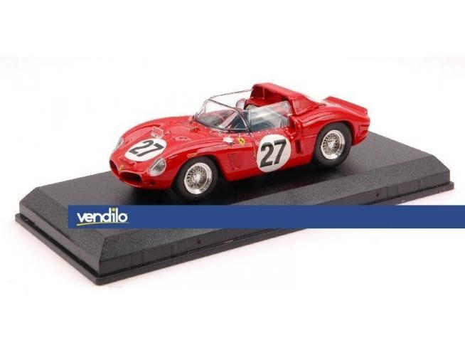 Art Model AM0212 FERRARI DINO 268 SP N.27 19th LM 1962 BAGHETTI-SCARFIOTTI 1:43 Modellino