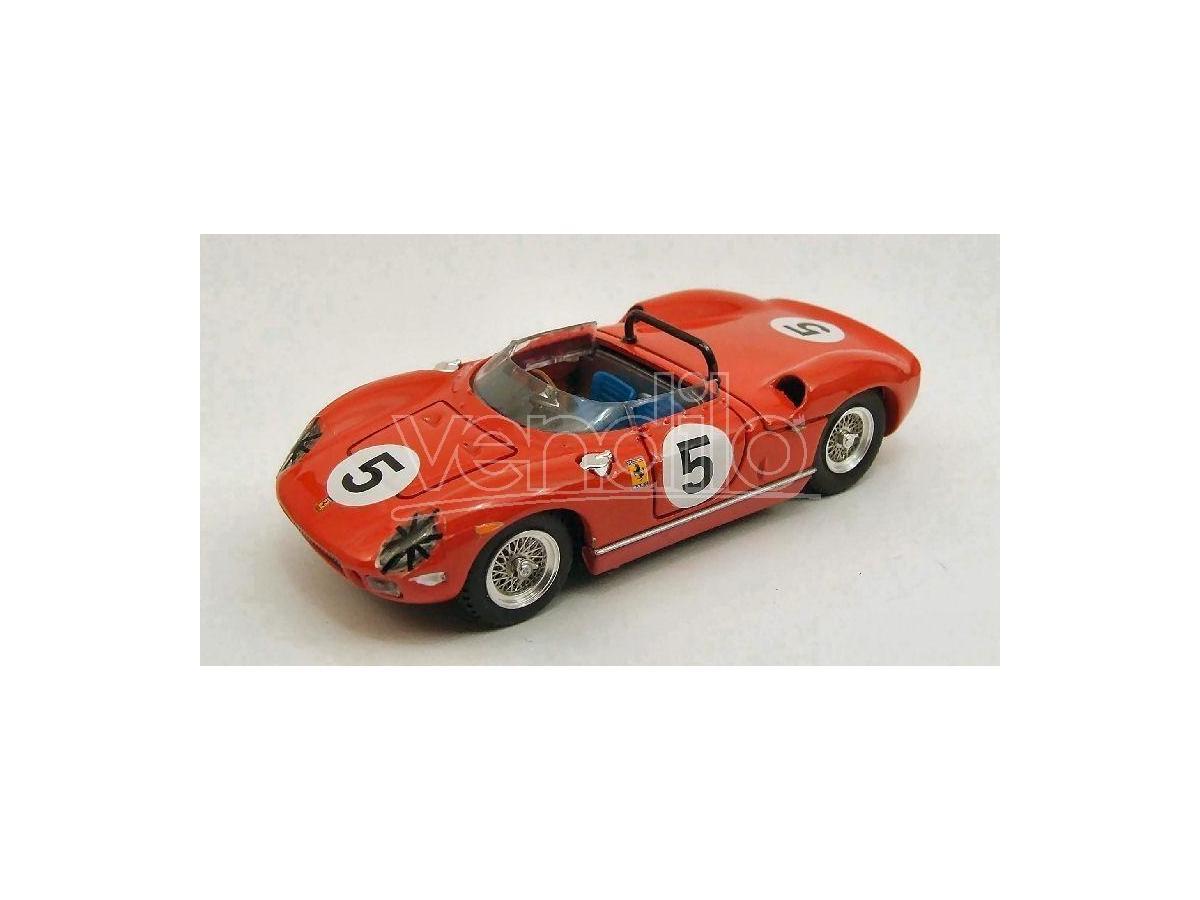 Art Model AM0225 FERRARI 250 P N.5 WINNER GP CANADA MOSPORT 1963 P.RODRIGUEZ 1:43 Modellino