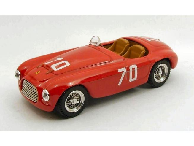 Art Model AM0238 FERRARI 166 MM SPIDER N.70 DNF TARGA FLORIO 1952 E.GILETTI 1:43 Modellino