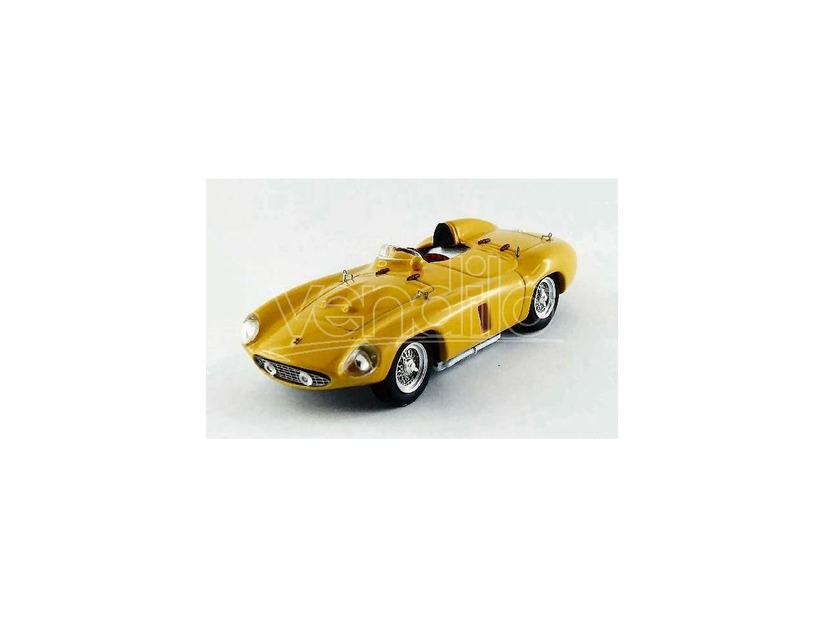 Art Model AM0264 FERRARI 750 MONZA 1955 PROVA YELLOW 1:43 Modellino