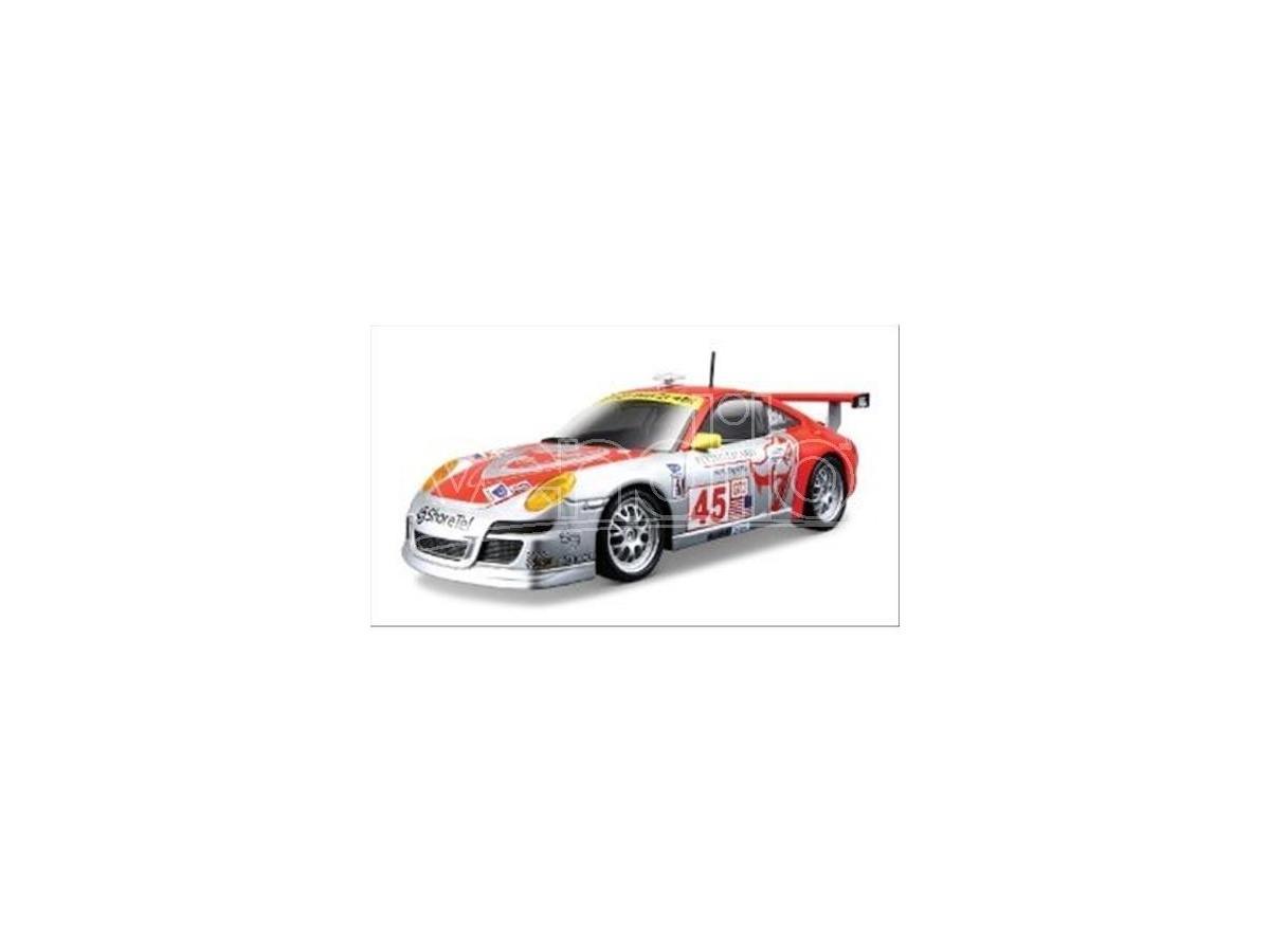 Bburago BU28002 PORSCHE 911 GT3 RSR N.45 1MSA 2007 VAN OVERBEEK-HEHZLER 1:24 Modellino