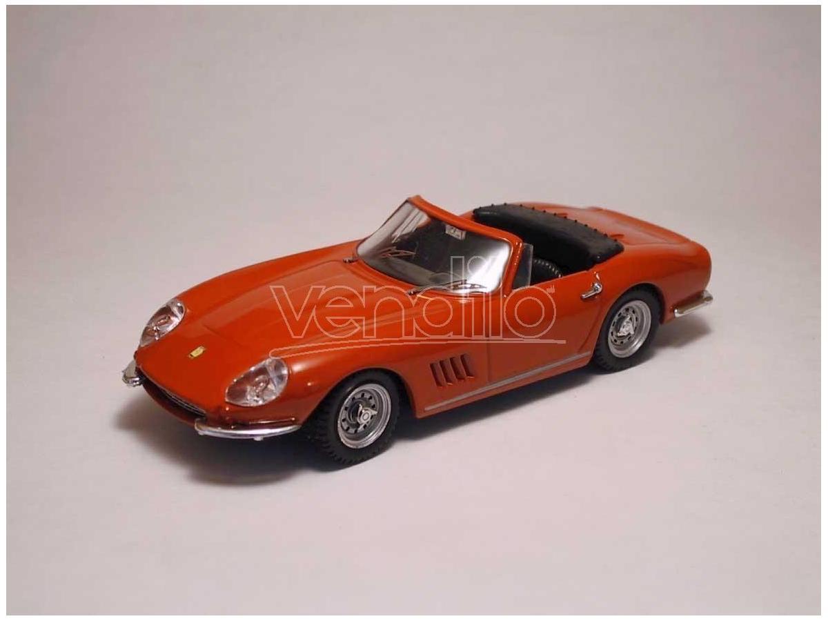 Best Model BT9003R FERRARI 275 GTB/4 SPIDER 1966 RED 1:43 Modellino