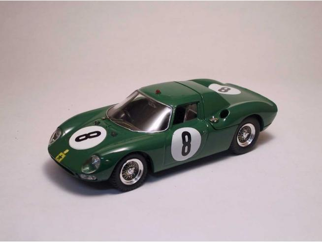 Best Model BT9054 FERRARI 250 N.8 16th 1000 KM NURBURGRING 1965 PIPER-MAGGS 1:43 Modellino