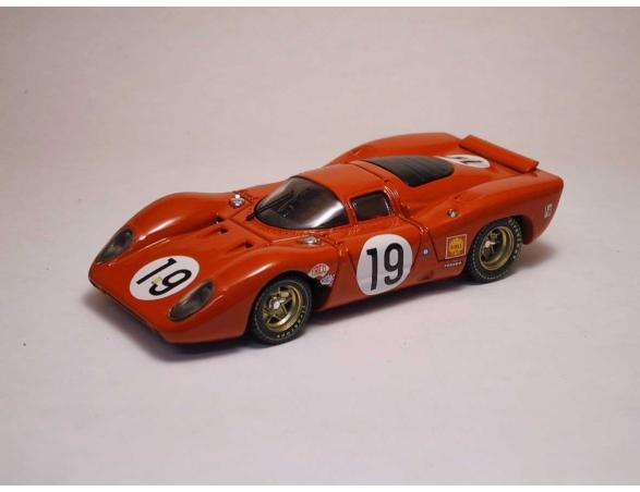 Best Model BT9152 FERRARI 312 P COUPE' N.19 ACCIDENT (FIRE) LM 1969 AMON-SCHETTY 1:43 Modellino