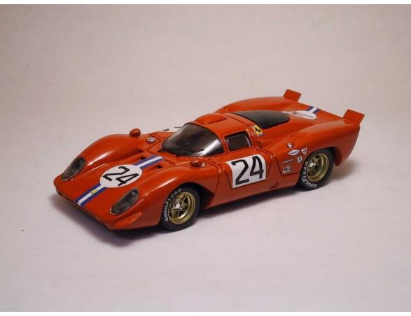 Best Model BT9153 FERRARI 312 P COUPE' N.24 4th 24H DAYTONA 1970 POSEY-PARKES 1:43 Modellino