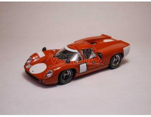 Best Model BT9156 LOLA T 70 COUPE' '67 PROVA RED 1:43 Modellino