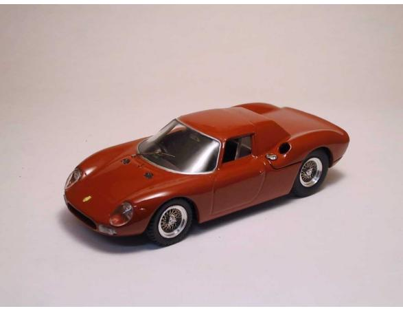Best Model BT9160 FERRARI 250 LM 1964 LONG NOSE PROVA RED 1:43 Modellino