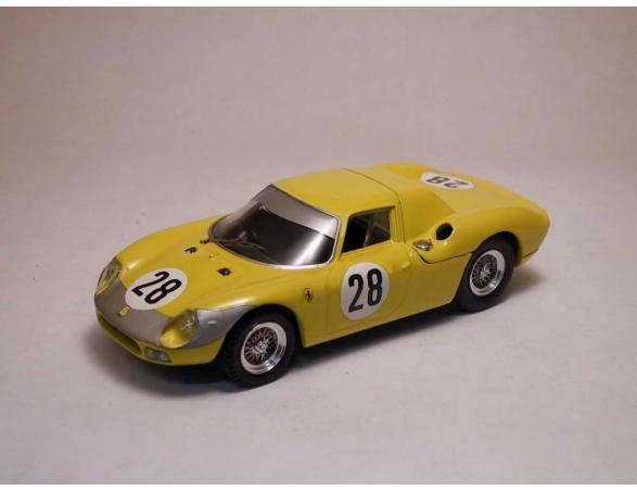 Best Model BT9166 FERRARI 250 LM N.28 7th 1000 KM PARIS 1966 NOBLET-GOSSELIN 1:43 Modellino
