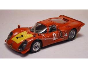 Best Model BT9186 ALFA ROMEO 33.2 N.2 3rd 500 KM IMOLA 1968 M.CASONI-S.DINI 1:43 Modellino