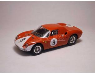 Best Model BT9187 FERRARI 250 LM N.8 2nd 12H REIMS 1964 J.SURTEES-L.BANDINI 1:43 Modellino