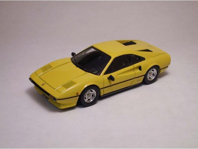 Best Model BT9203 FERRARI 308 GTB 1975 YELLOW 1:43 Modellino