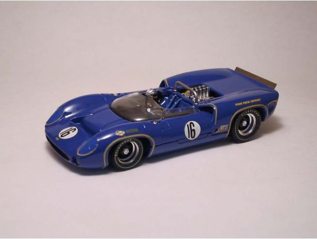 Best Model BT9214 LOLA T70 SPYDER N.16 DNF CAN-AM ST.JOVITE 1966 M.DONOHUE 1:43 Modellino