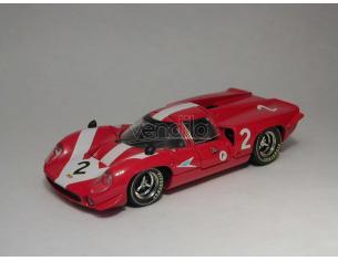 Best Model BT9231 LOLA T70 COUPE' N.2 RETIRED 6H BRANDS HATCH 1967 SURTEES-HOBBS 1:43 Modellino