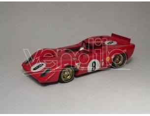 Best Model BT9243 FERRARI 312 P SPIDER N.8 2nd 1000 KM SPA 1969 RODRIGUEZ-PIPER 1:43 Modellino